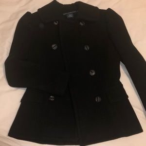 Ralph Lauren sport jacket black 100% wool NWOT